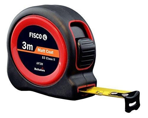 Fisco AP3M/D Flexómetro Clase II con caja de ABS recubierta de goma (3 m x 13 mm)