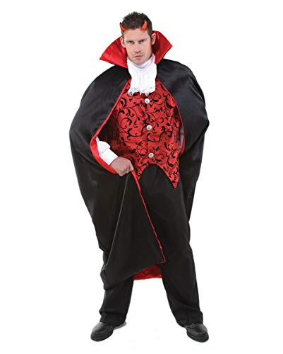 il Luzifer Teufel Kostüm für Herren an Halloween | One Size ()