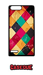 Caseque Retro Art CT Back Shell Case Cover for Huawei P7 Mini