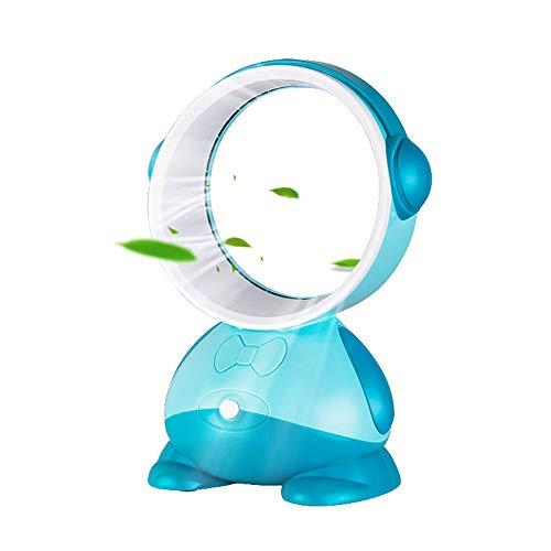 QMJHL Blattloser Fan USB, blattloser Sommerlüfter der Miniklimaanlage, Gebläse, leiser tragbarer Minilüfter, Schlafkühlung, besserer Schlaf. (Easy Cat Make Up)