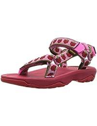 Teva, Hurricane XLT 2, sandali unisex da bambino, con punta del piede aperta, 1019390T, red - pink, 26