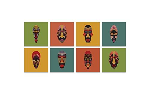 Homedecor. House Prints, Hohe Qualität Leinwand, Multi Color, großes Set