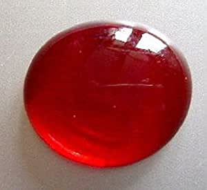 Glass Pebbles Red..20mm.. 400g(apx 92)