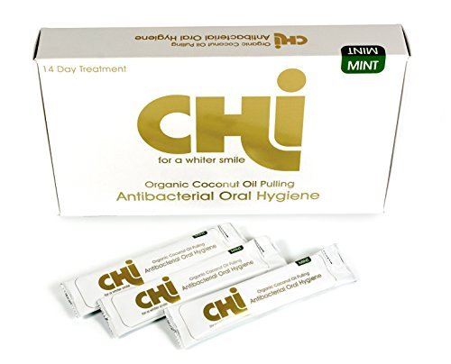 chi-organic-coconut-oil-pulling-oral-hygiene-teeth-whitening-14-day-course