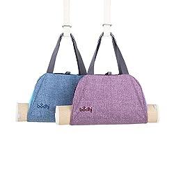BODHI Yogatasche NAMASTÉ, Yogamatten-Tragetasche im Handtaschen-Look (light blue)