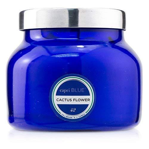 Capri Blau Cactus Flower Petite Blau Signature Jar, 08oz -