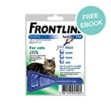 Frontline Spot-On - Cat 1 pack - INCLUDES EXCLUSIVE PETWELL® FLEA AND TICK E BOOK