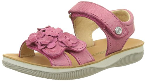 Naturino 5740, Sandales Bout Ouvert Fille Rose