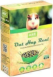 JiMMy Pet Products Oat Hay Real High Fiber Pellet Guinea Pig Food 400 Grams
