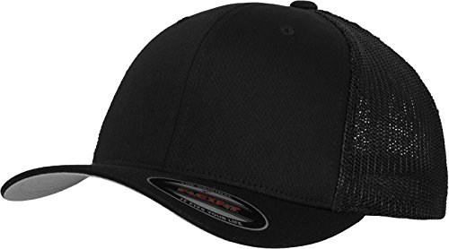 Flexfit Basecap Mesh Cotton Twill Trucker Cap black L/XL