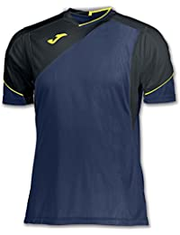 Joma Granada Camisetas Equip. M/C, Hombre, Azul, S