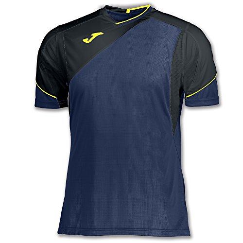 Joma Granada Camisetas Equip. M/C, Hombre, Azul, M