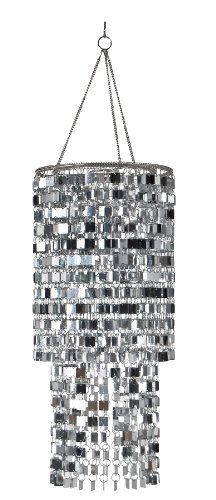 Wall Pops WPC96860 Ready-to-Hang Bling Chandelier, Icicles