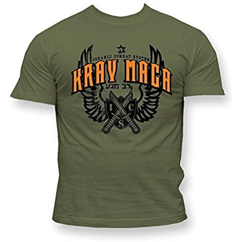 Krav Maga T-shirt. krav maga Israeliano Combat sistema. Dirty Ray. Palestra. allenamento. MMA t-Shirt
