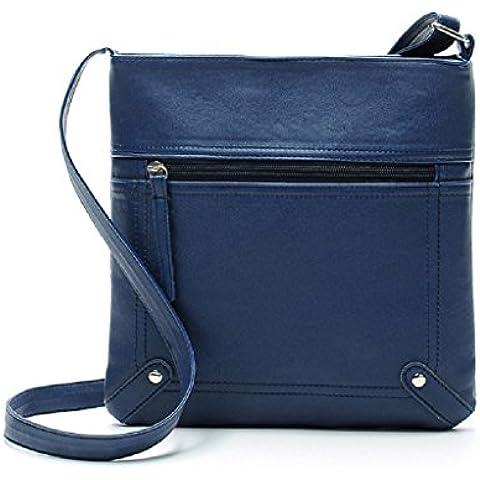 Borsa Familizo Elegant Leather Satchel delle donne di modo di Crossbody spalla borsa Messenger Bag