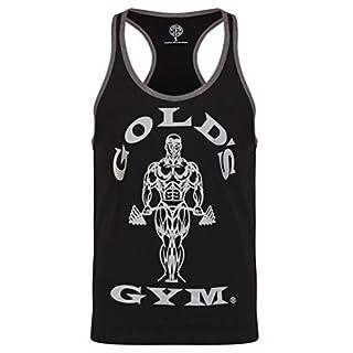 Gold's Gym, Muscle Joe Contrast Vest, Tank Top, Herren, Schwarz, M