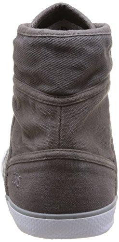 TBS - Veluta, scarpe da ginnastica a collo alto  da donna grigio(Grey (Colis 12P Bitume))