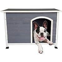 Casetas para perros Caseta para Mascotas Caseta para Gatos Percha para Interiores De Madera Maciza para