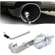 DOBO® Effetto Turbo Fischio per Marmitta Auto Tuning Terminale Valvola Sound Turbina