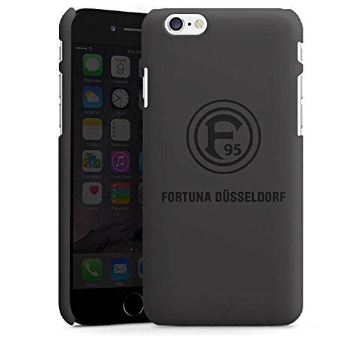 Apple iPhone 7 Silikon Hülle Case Schutzhülle Fortuna Düsseldorf Fanartikel F95 grau Premium Case matt