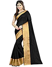 SilverStar Women's Cotton Silk Party Wear Saree