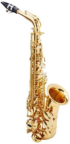 Roy Benson Eb-Alt Saxophon MOD.AS-302 Messing Korpus lack., inkl. leichtem Rechtecketui