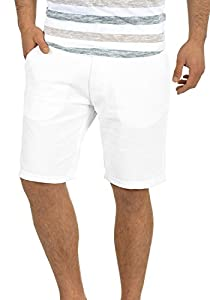 BLEND 20703792ME Nolito Chino Shorts, Größe:XL;Farbe:White (70002)