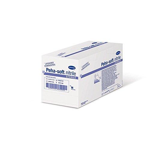 sterile Nitril Handschuhe Peha-soft nitrile sterile Gr. M, mitlel, 50 Paar