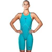 Speedo Womens Fast Skin LZR Racer X opbk kskn AF Green 68–09752b452, Mujer, Azul