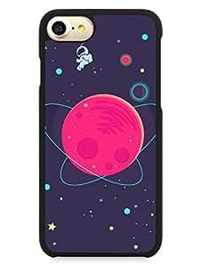 iPhone 7 Case - I Am Astonaut - Travel The Space - Designer Printed Hard Cases with Premium Rubberized Edges