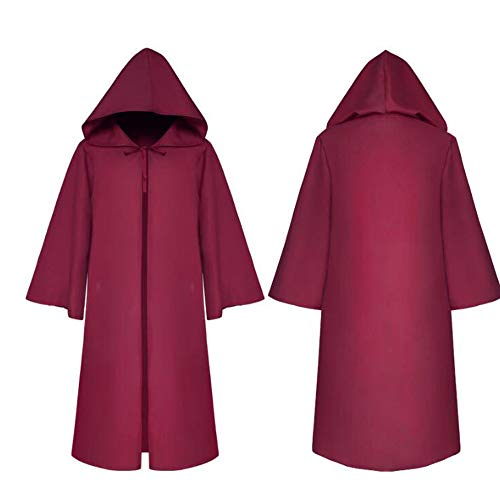 k Robe Ritter Gothic Fancy Kleid up Halloween Masquerade Cosplay Kostüm Cape,Purple ()