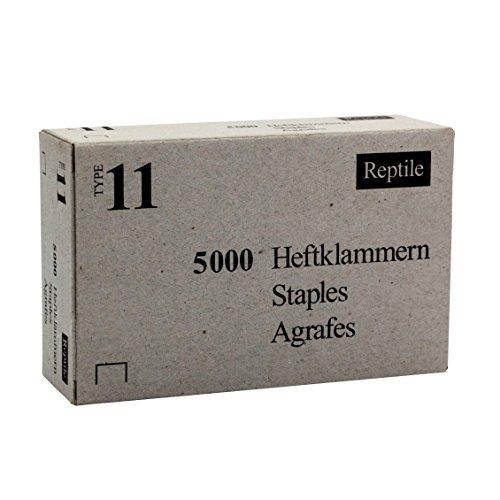 Rapid Industrie Flachdrahtklammer Typ 11(140)/10 mm, 5000 Stück Schachtel, 11910770