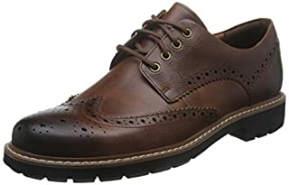 Clarks Batcombe Wing, Scarpe Stringate Derby Uomo, Marrone (Dark Tan Lea-), 41 EU (B072MK1ZX4) | Amazon price tracker / tracking, Amazon price history charts, Amazon price watches, Amazon price drop alerts