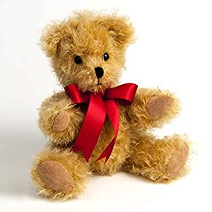 Canterbury Bears ltd 121 Gregory Junior Mohair - Oso de Peluche, Color Dorado