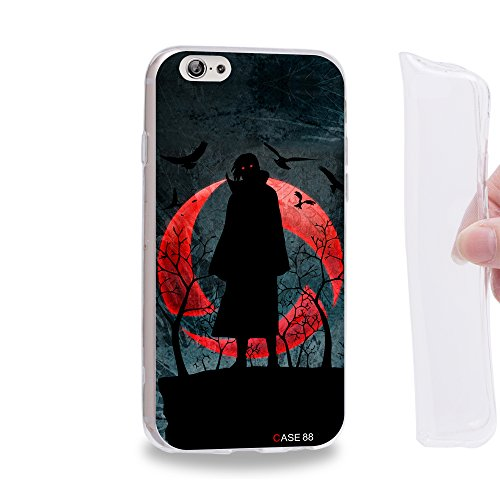 "Naruto Uchiha Itachi Funda de gel TPU para Apple iPhone 6 / 6s (4.7"")"