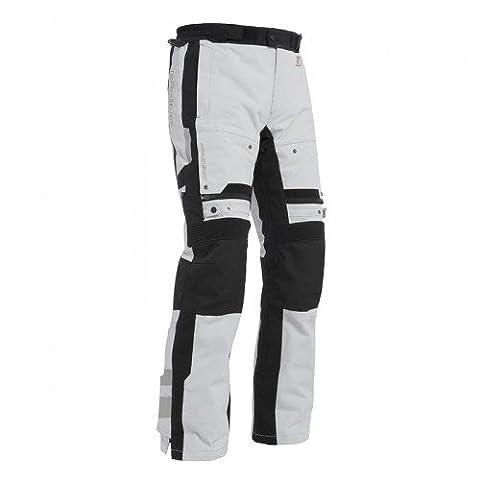 Pantalon moto BERING - RANDO - L - Noir / Gris - Noir
