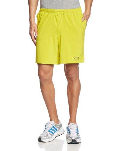 Gore Running Wear Essential Baggy - Pantalón corto para hombre, color amarillo, talla XXL