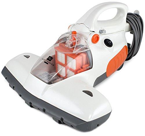 BRUBAKER Antibakterieller UV-Licht-Milbensauger Staubsauger 800 Watt inkl. Teleskopstange ideal für Allergiker - Staubsauger Matratze