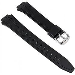 Casio Ersatzband Uhrenarmband - Marine Gear - Resin Band Schwarz MRP-700