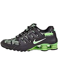 new product 26963 8a226 ... new zealand nike shox nz se jcrd black green pulse running shoes sz 10  a2f6c 931fb