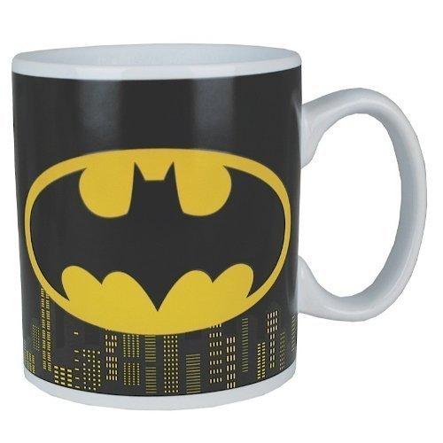 Lasgo Batman Tazza logo, Ceramica, Multicolore, 12x10.8x9.2 cm