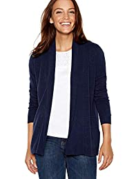 fc34a53ab8 Maine New England Womens Navy Textured Stripe Cardigan
