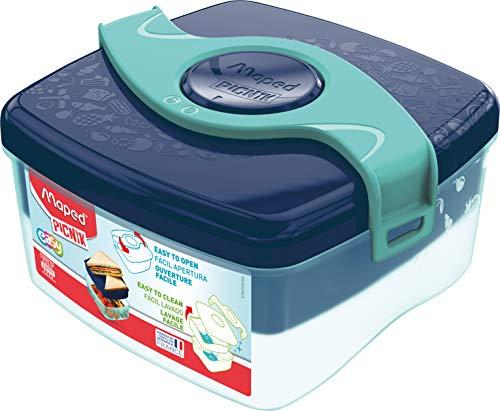 Maped PICNIK - Lunch-Box, Brot-Dose, Frühstücks-Dose ORIGINS KIDS - blau