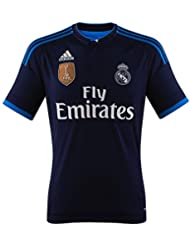 adidas Real 3 JSY WC - Camiseta para hombre, color azul marino / azul / blanco, talla M