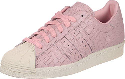 adidas Damen Superstar 80s Hohe Sneaker Pink (Wonder Pink/Wonder Pink/Off White)