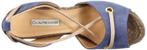 L'Autre Chose Ld5068.10Gp004487040, Espadrilles femme Bleu (Lavender)