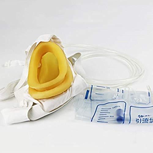 ZENGZHIJIE Urinbeutel Urinal Pee Holder für Blasenkontrolle und Inkontinenz mit elastischem Bund, belüftet und wiederverwendbar