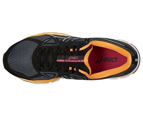 Chaussures Gel Attract 3 Graphite/Silver/Nectarine - Asics Noir