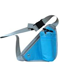 HS-STORE's Sports Waist Bag Water Bottle Holding Storage Bag Pouch (Multicolor)