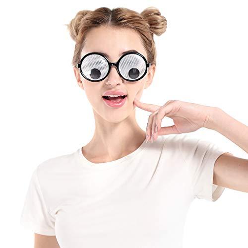 Pingtr - Cosplay-Brille,Lustige verrückte Kostüm Brillen Neuheit Kostüm Party Sonnenbrillen Zubehör (Sport Halloween Kostüme Für Babys)
